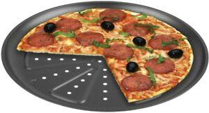 CHG 9776-46 Pizzabackblech, 2 Stück, Durchmesser: 28 cm, in neuer Profiqualität