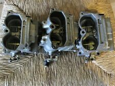 OMC #'s 393773 (2) and 393774 (1) Rebuilt Carb Set for 1980's Crossflow 150hp's