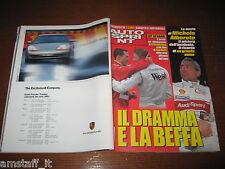 AUTOSPRINT 2001/18=MICHELE ALBORETO IL RICORDO=GP F1 SPAGNA=SCHUMACHER=HAKKINEN=
