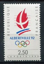 STAMP / TIMBRE FRANCE NEUF** N° 2632 SPORT ALBERVILLE