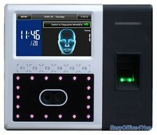 1,500 Capacity Dual Cameras Face Recognition Eye Scanner for Time Attendance