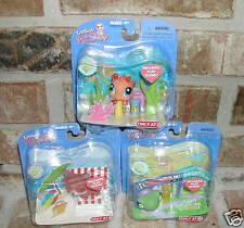 Littlest Pet Shop TARGET #315 #316 #317 Seahorse corgi-FOX Turtle