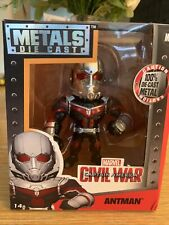 "Marvel  Metals die cast 4"" Antman"