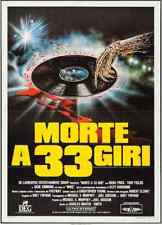 TRICK OR TREAT Italian 2F movie poster 39x55 GENE SIMMONS OZZY OSBOURNE 1986 NM