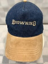 Browning Bleu Jean Réglable Adulte Baseball Balle Chapeau