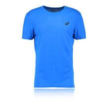 Abbigliamento e accessori blu marca ASICS per palestra , fitness , corsa e yoga poliestere