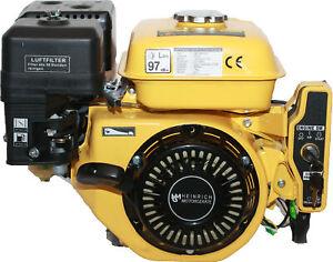 Benzinmotor E-Starter BM-208E  Kartmotor 7,0 PS Motor Industriemotor Standmotor