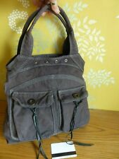 ZADIG & VOLTAIRE sac cabas doubles anses toile Gris anthracite