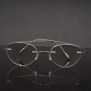 MOST WANTED Silhouette Made in Austria 7799 Titanium Flexible Rimless Glasses NR