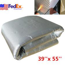 5Mm Aluminum Car Fire Heat Insulation Mat Sound Deadener Foam Self-adhesive Usa (Fits: Dodge Shadow)