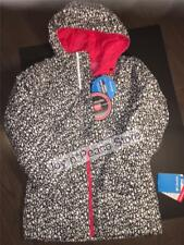 COLUMBIA YOUTH GIRLS OUTGROWN READY SET SNOW HOODED THERMAL COIL JACKET M 10 12