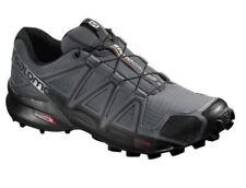 Salomon Men's Speedcross 4 Trail Running Shoes- Cloud/Black/Pearl Grey Size 10