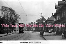 LC 3 - Uppingham Road Passing Meynell Road, Leicester, Leicestershire c1912