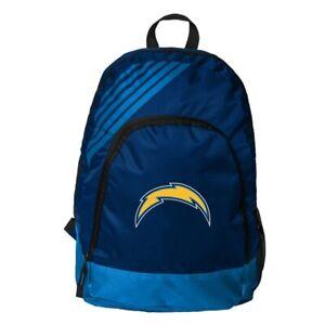 Los Angeles Chargers Football Logo NFL Border Stripe Backpack School Gym Bag