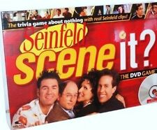 Seinfeld Scene It Trivia Adult Party Clips DVD BoardGame Kramer, The Gang Mattel
