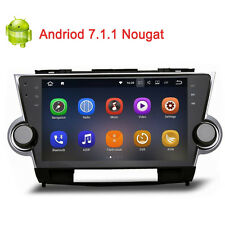 10.2 Android 7 Car GPS Radio Nav Blutooth stereo for 2009-2012 Toyota Highlander