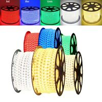220V-240V RGB 5050 LED Strip Lights Flexible Tape Rope Light Waterproof 1M-20M