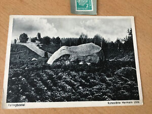 Fallingbostel Lager Ruhestätte Hermann Löns Original Postkarte!