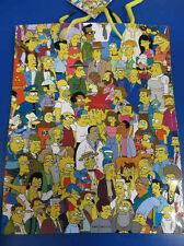 The Simpsons Fox Cartoon Christmas Present Kids Birthday Party Medium Gift Bag