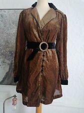 Free People Velvet Dress jacket bnwt 8/10 steampunk Boho Victoriana