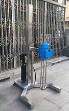 High Shear Mixer 2.2KW Disperser Emulsifying Machine Electric Lifting Basement