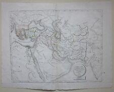 1822 CARTE PAYS ASSYRIA MEDES PERSIAN MACEDONIA de Selves Assiri Persia Medi