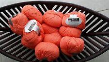600g wolle Cotton Merino Select Gedifra Schachenmayr Orange Babywolle NATUR