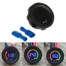 DC 12V Car Motorcycle Digital Voltmeter Voltage Gauge Meter LED Panel Display