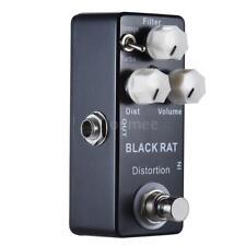 BLACK RAT Distortion Compulsive Distortion Mini Guitar Effect Pedal Mini F9O3