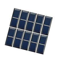 Aiyima 10 Pcs Solar Panel DIY Solar Cell Charge Battery Charging 55*22mm