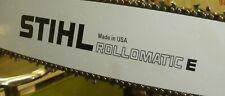 "STIHL Rollomatic E  Decal for Chain Saw Guide Bar, Black, 8"" long, pair, CS101"