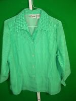Joanna Women's Shirt Fit Cut Size XL