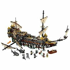 Pirates of The Caribbean Silent Mary 2344 Pcs Building Blocks Bricks Ship DHL