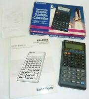 Vintage Radio Shack EC-4033 Programmable Graphic Scientific Calculator WORKS