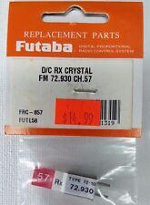 Futaba # FRC-857 FUTL5857 D/C Rx Crystal FM 72.930 CH 57 72MHz Dual Conversion