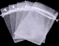 """Butterfly Organza Colors Gift Bags Jewelry Wedding Favors Drawstring 2X3/"""" 90x70m"""