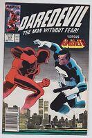 Daredevil 257 Marvel Comics 1988 VS THE PUNISHER Ann Nocenti John Romita Jr