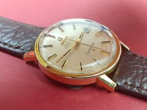 Omega Constellation Automatic Chronometer Gold Caped Ref: 168.018