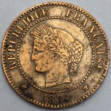 France Ceres 2 centimes 1884 A bronze #1110