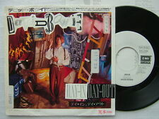 PROMO WHITE LABEL / DAVID BOWIE DAY IN DAY OUT / JAPAN 7INCH