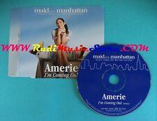 CD Singolo Amerie I'm Coming Out SAMPCS 12673 1 PROMO EUROPE 2003 no mc lp(S26)