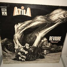 Original Atila Reviure Revivir Spain Prog Rock Psych Iceberg Gotic Triana EX