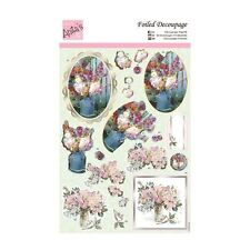 ANITAS DECOUPAGE FOIL FOR CARTE OR ARTIGIANATO - ACQUERELLO BOUQUET