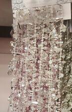 CHRISTMAS DIAMOND BEAD TREE DECORATION GARLAND DIAMANTE BAUBLE CRYSTAL CHAIN