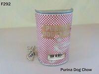 Vintage PURINA Dog Chow Clock STORE DISPLAY