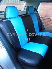 i - TO FIT AN ALFA ROMEO 156 CAR, S/ COVERS, ARTIFICIAL LEATHER, SKYBLUE 59.99