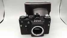 VINTAGE URSS ZENIT 11 Rangefinder Film Camera vis Corps Étui en cuir NICE/Clean