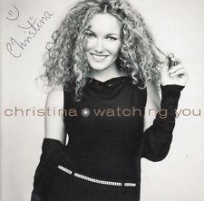 CHRISTINA Watching You 1998 Danish SIGNED 13-track CD + CoA