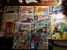 The West Coast Avengers Comic Book Lot of 10 (Annual 1) 3,8,9,14,19,22,25,28,29