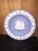 Wedgwood Vintage Blue Dish Small Decorative Plate.